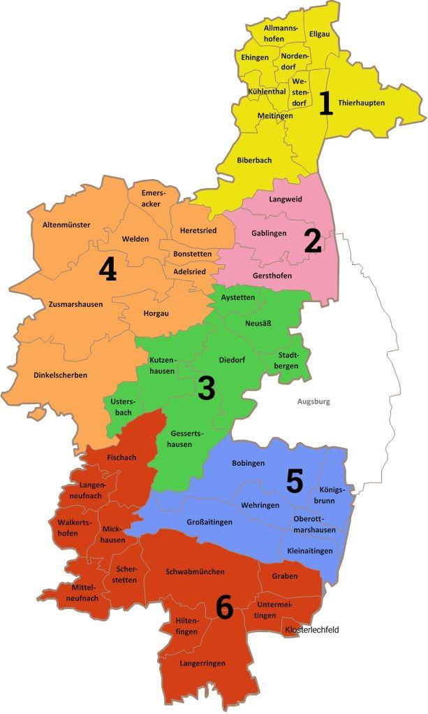 Landkreis Augsburg Karte.Seniorenpolitisches Gesamtkonzept Landkreis Augsburg